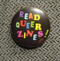 Read Queer Zines button