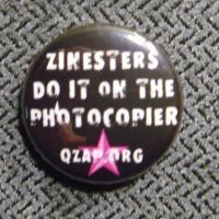 Zinesters Do It On The Photocopier button